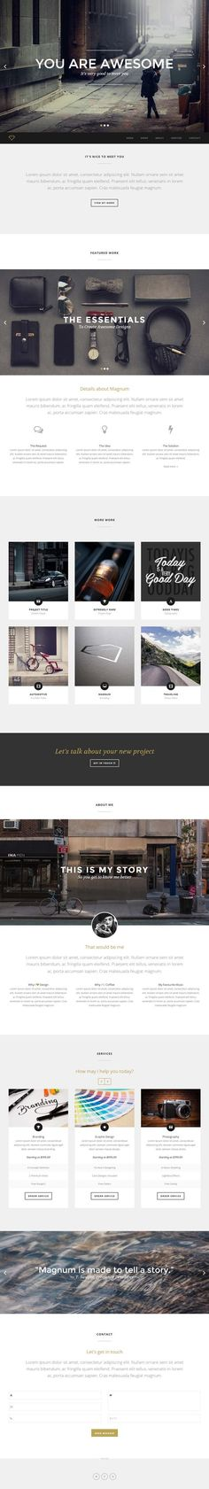 Magnum - Creative Portfolio Template, http://themeforest.net/item/magnum-creative-portfolio-template/6458953?ref=graphicdesignjunction&ref=graphicdesignjunction&clickthrough_id=196032247&redirect_back=true:
