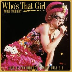 Who's That Girl Tour - Madonna