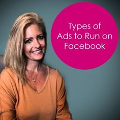 Types of Ads to Run on Facebook – Objectives Marketing Tools, Content Marketing, Social Media Marketing, Facebook Advertising Tips, Facebook Marketing, Pinterest Marketing, Social Media Tips, Giveaways, Productivity