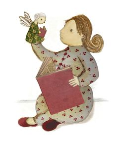 Reading angel - daniellakoffler.com