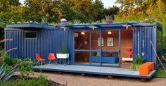 backyard and garden design ideas shipping container - Google Search