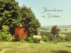 Wie schläft es sich in einem Baumhaus in Italien? In der Nähe von Mailand!