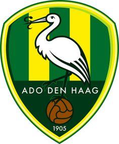 ADO Den Haag (Haagsche Football Club Alles Door Oefening Den Haag)   Country: Netherlands / Nederland. País: Países Bajos.   Founded/Fundado: 1905/02/01   Badge/Crest/Logo/Escudo.
