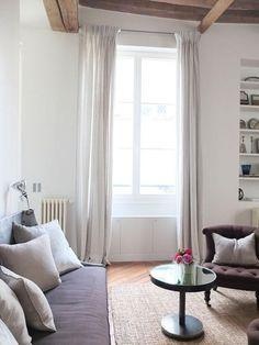 Lovely tones. Rue Michel le Comte Paris Rental | Remodelista