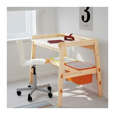 FLISAT Children's desk, adjustable - adjustable