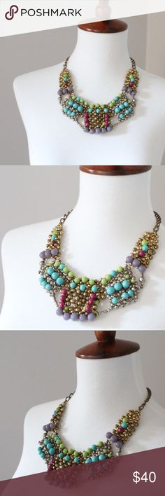Noonday Bling Collar Necklace Collar necklace handcrafted by artisans in India. In perfect condition. Noonday Jewelry Necklaces