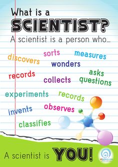 What is a scientist? Poster