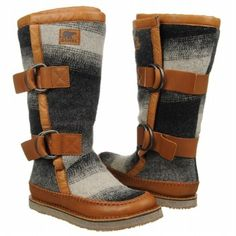 Sorel Chipahko Blanket Boots (Charcoal) - Women's Boots - 11.0 M