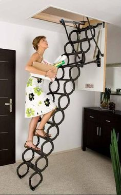 Charmant Scissors Attic Ladders   LST ...