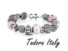 www.tedora.nl Pandora Charms, Jewerly, Charmed, Italy, Bracelets, Charm Bracelets, Jewelry, Bijoux, Jewlery