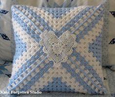 Big Granny Square Pillow Finished February 2014.    https://www.pinterest.com/KnotForgottenSt/knot-forgotten-studio/
