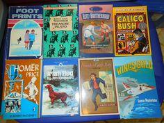 #Books #children's classics 8 #paperbacks #Treasure Island, #Abeka Footprints #Reader, #Calico Bush, Rite of #Brotherhood, #HomerPrice, #WingsofGold, #IrishRed + #Teach #Homeschool #readers #education, #Teachers FREE SHIPPING