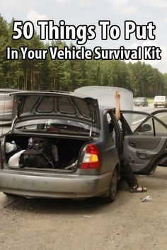 Though the focus of this site is on bugging in, it's still wise to have a vehicle survival kit in case you're stranded.