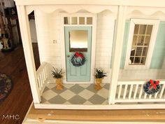 Painted porch floor! Doing this!!!!!!!!