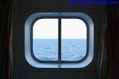 Ventana del camarote exterior #cruceroconniños http://www.pacoyverotravels.com/2014/03/crucero-con-ninos-oriente-medio-costa-cruceros.html