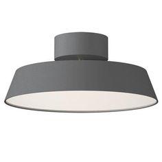 Buy Grey Nordlux Alba LED Adjustable Tilt Semi-flush Ceiling Light from our Ceiling Lighting range at John Lewis & Partners. Kitchen Light Fittings, Led Light Fittings, Light Fixture, Flush Ceiling Lights Uk, Grey Ceiling, Ceiling Lamps, Ceiling Lighting, Mint Room, Semi Flush Lighting