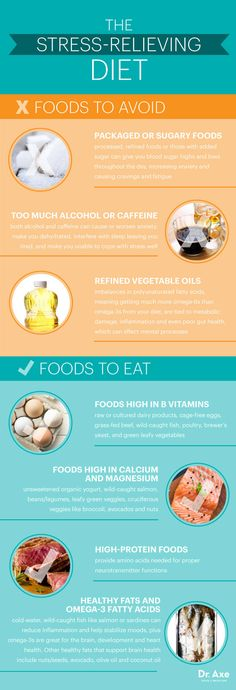 The stress-relieving diet - Dr. Axe http://www.draxe.com #health #holistic #natural