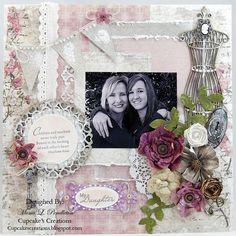 Scrapbook hija y madre