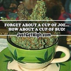 Forget about a cup of JOE. how about a cup of BUD! Wake And Bake, Bud, Forget, Popular, Popular Pins, Gem, Eyes, Knob, Most Popular