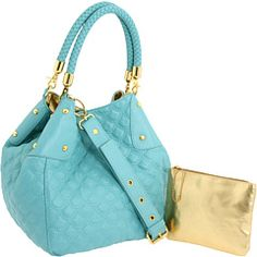 Big Buddha - Ariel Bag    I've never heard of this brand before but I loveee this bag! The colour is GORGEOUS! <3 Teal & gold. :)