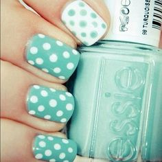 I love Essie's nail polish. It stays on for soooooo long, and it doesn't chip, peel, or crack.