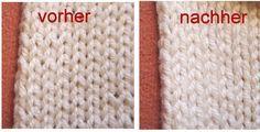 Die verflixte zweite Masche | Tichiro - knits and cats