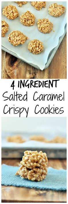 Salted Caramel Crispy Cookies P