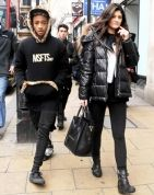 Kylie Jenner & Jaden Smith in london