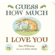 """Whilst this one can be a bit of a tongue twister to read, it is a classic must own. The """"I love you more"""" message is timeless and your littl..."""