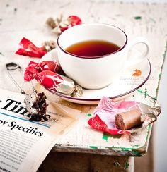 чай с «Батончиками» by Natalia Lisovskaya, via 500px