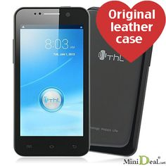 THL W100S Smartphone MTK6582 1.3GHZ Android 4.2 With 4.5inch IPS Screen Black