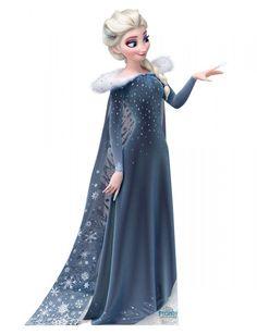 Олаф и Холодное Приключение большая картинка Эльзы