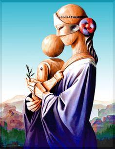 vito campanella - Madre metafisica