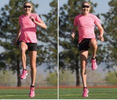 Improve Your Speed with High Knees - Women's Running Tabata Training, Tabata Workouts, Marathon Training, High Knee Exercise, Regular Exercise, Jogging, Running Magazine, Workout Warm Up, Perfect Workout