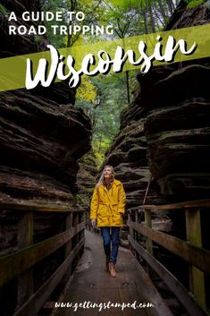 The ultimate Wisconsin road trip travel itinerary. Madison is home to an annual food festival with no shortage of cheese, Wisconsin Dells is the ideal fall destination, and Copper Falls is the perfect afternoon hike. The ultimate guide to camping around the state including things to do, overlooked destinations, and more. USA adventure travel. | Getting Stamped - Couple #Travel & #Photography #Blog | #Travel #TravelTips #TravelGuide #Wanderlust #BucketList #Wisconsin #RoadTrip #USA #Adventure
