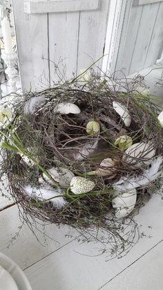 Schöner großer Tischkranz Kranz Frühlingsdeko kleines schwedenhaus shabby chic in Möbel & Wohnen, Feste & Besondere Anlässe, Jahreszeitliche Dekoration | eBay!