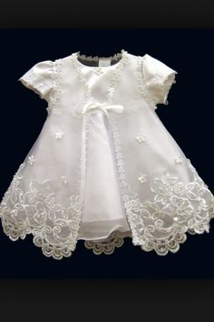 Style Baptism Dresses, Christening Dresses, Baptismal Gowns, Babies Dresses, And Children Formal Wear - Diy Crafts - hadido Baby Christening Dress, Girls Baptism Dress, Baptism Gown, Baby Gown, Baby Girl Gowns, Cute Baby Dresses, Little Girl Dresses, Flower Girl Dresses, Baby Dress Design