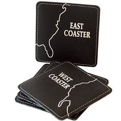"Recycled rubber ""coasters"""