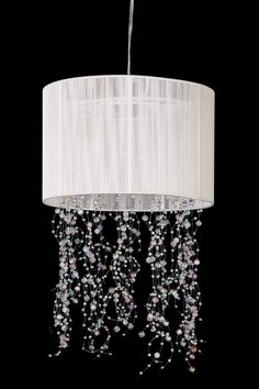 White Sea Wasp Deco Chandelier