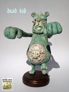 Dead Ted by PickledCircus on Etsy https://www.etsy.com/listing/188751351/dead-ted