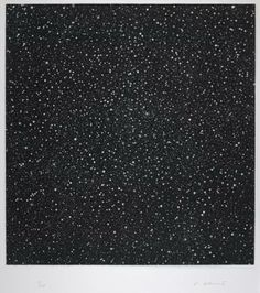 Vija Celmins, 'December 1984' 1985 (mezzotint)