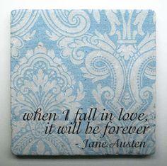 Jane Austen tile