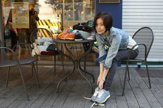 Touch Ground 70's Vintage Sneakers 탤런트 엄수정 스니커즈 Vintage Sneakers, Sneaker Brands, Home Appliances, Touch, House Appliances, Appliances
