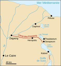 Canal des Pharaons - Canal de Suez – Wikipédia, a enciclopédia livre