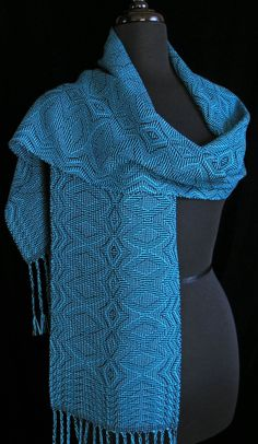 Handwoven Scarf by Aimee Radman FiberFusion on Etsy