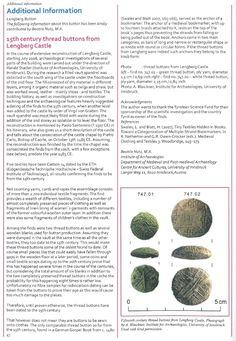 (9) 15th century thread buttons from Lengberg Castle   Beatrix Nutz - Academia.edu
