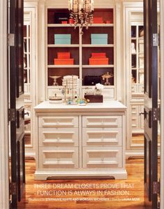 Marcus Design: {closet envy} with hermès, chanel, and tiffany (?) boxes....unf.
