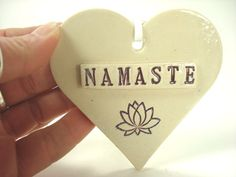 Hey, I found this really awesome Etsy listing at https://www.etsy.com/listing/223323269/namaste-ornament-boho-heart-gypsy-decor