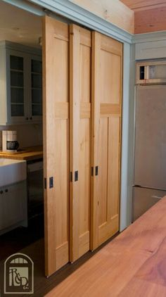 Great Closet Idea For A Wide Reach In.
