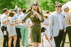 70s inspired at the Veuve Clicquot Polo Classic // See more at Racked: (http://ny.racked.com/2015/6/1/8698505/veuve-clicquot-polo-classic-photos-2015?utm_campaign=ny.racked&utm_content=gallery-post&utm_medium=social&utm_source=pinterest)